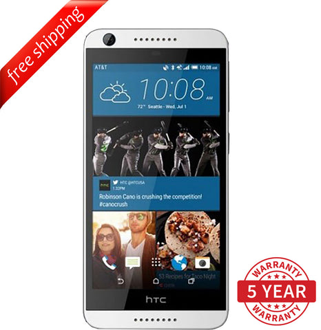 Original HTC Desire 626 13MP 4G LTE Factory Unlocked  Black (8GB) - Refurbished
