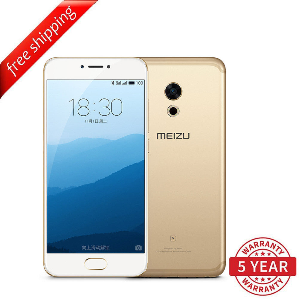 Meizu Pro 6S 4+64GB (Multi-Language) - Gold