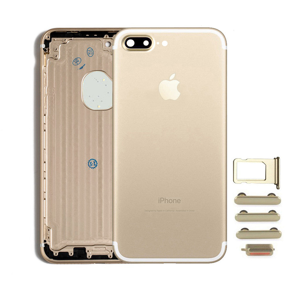 Back Housing Replacement Battery Case Cover Rear Frame For iPhone 7 Plus - Gold