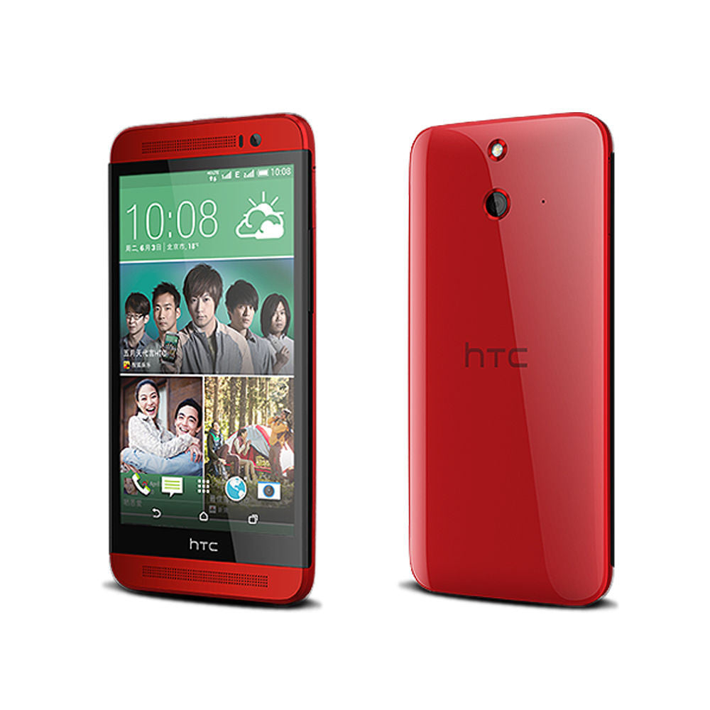 Original HTC ONE E8 16GB Factory Unlocked Red - Refurbished