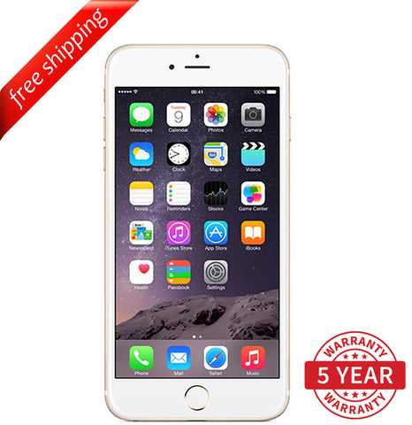 Original Apple iPhone 6 4G LTE GSM Factory Unlocked Gold (16GB/32GB/64GB) - Refurbished