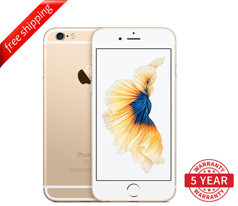 Original iPhone 6S 4G LTE GSM Factory Unlocked Gold (16GB/64GB/128GB)  - Refurbished