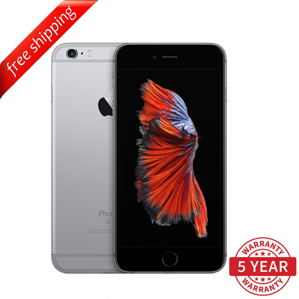 Original iPhone 6S Plus 4G LTE GSM Factory Unlocked Space Gray (16GB/64GB/128GB)  - Refurbished