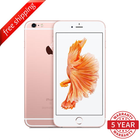 Original iPhone 6S Plus 4G LTE GSM Factory Unlocked Rose Gold (16GB/64GB/128GB)  - Refurbished