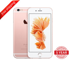 Original iPhone 6S 4G LTE GSM Factory Unlocked Rose Gold (16GB/64GB/128GB)  - Refurbished