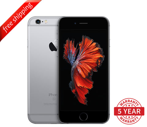 Original iPhone 6S 4G LTE GSM Factory Unlocked Space Gray (16GB/64GB/128GB)  - Refurbished