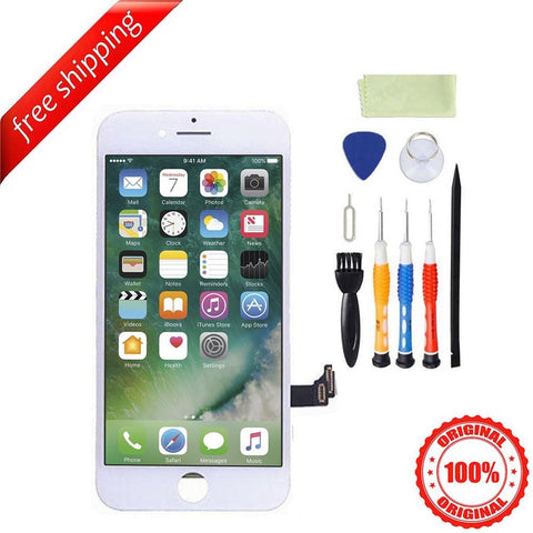Original LCD Display Touch Screen Digitizer Replacement For iPhone 7 - White