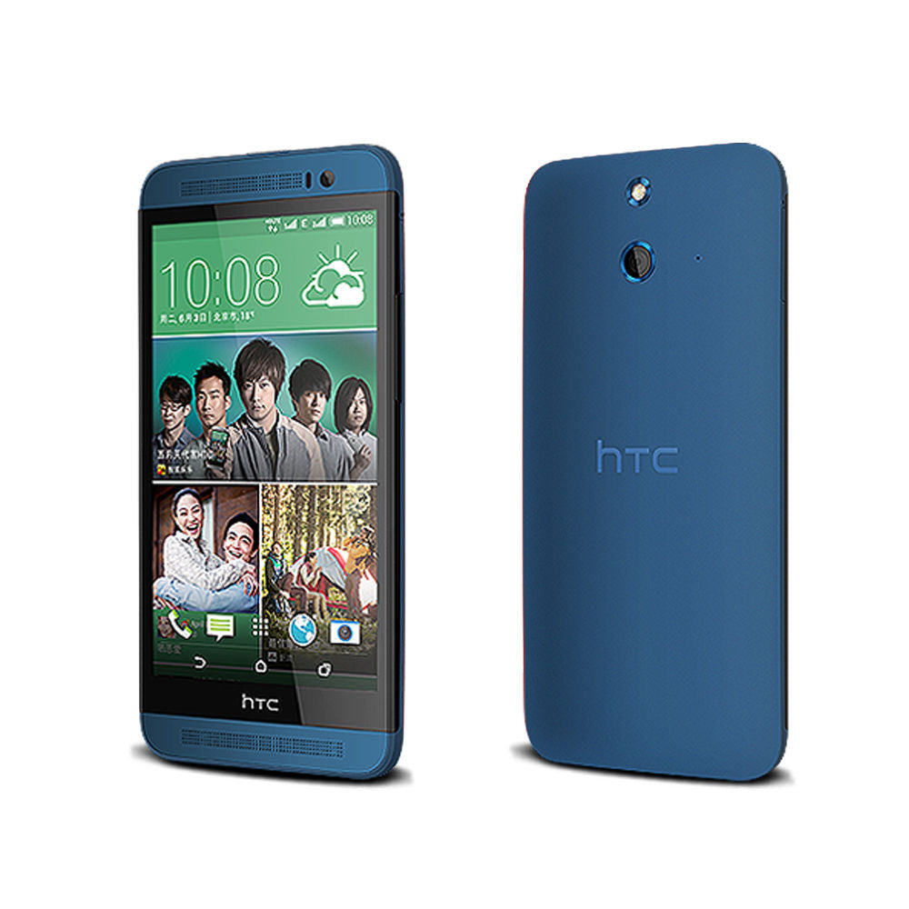 Original HTC ONE E8 16GB Factory Unlocked Blue - Refurbished
