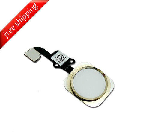 Replacement Home Button With Flex Cable For iPhone 6 - Gold