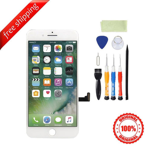 Original LCD Display Touch Screen Digitizer Replacement For iPhone 7 Plus - White