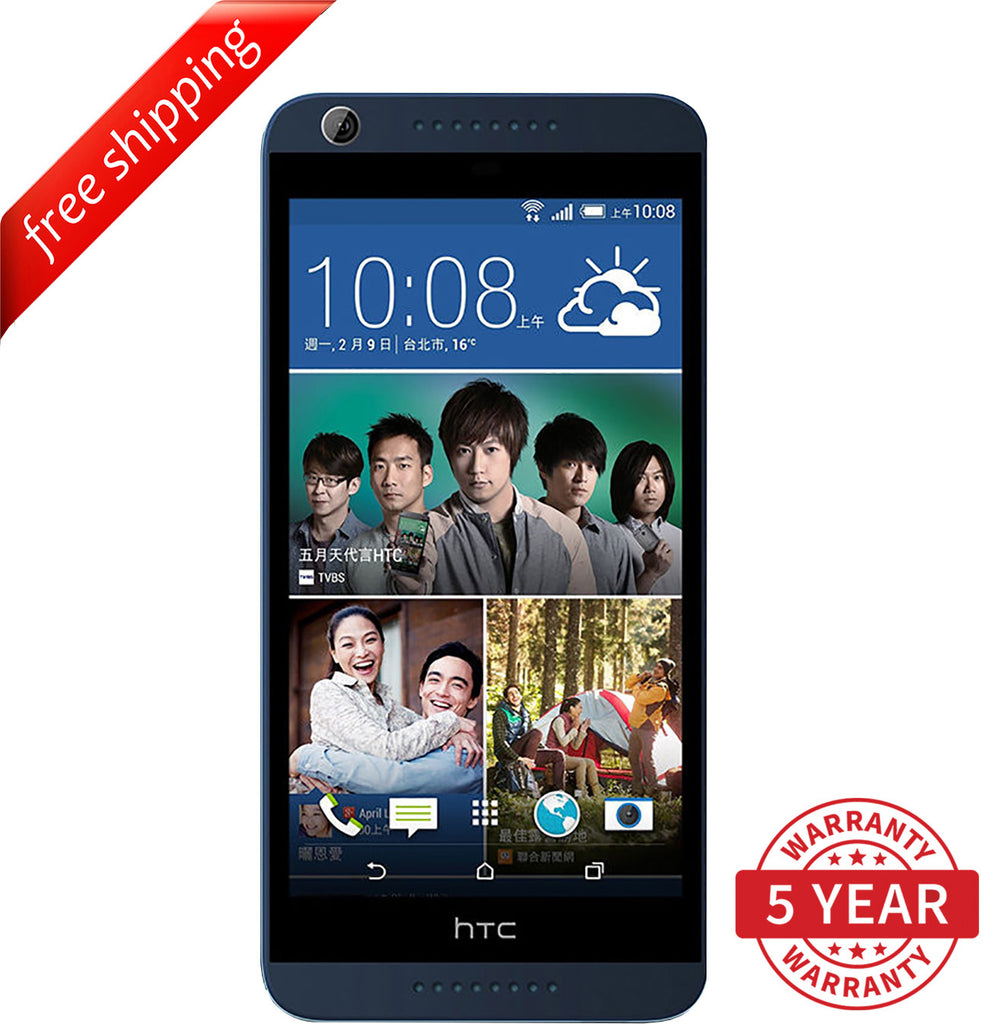Original HTC Desire 820U Dual Sim 13MP 4G LTE Factory Unlocked Gray (16GB) - Refurbished