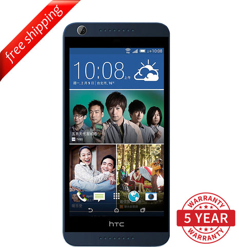 HTC Desire 820U Dual Sim 13MP 4G LTE Factory Unlocked Gray (16GB) - Refurbished