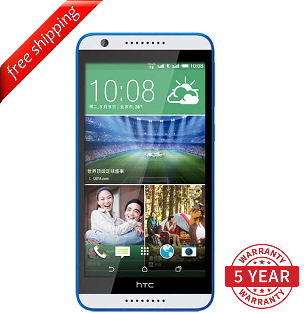 Original HTC Desire 820U Dual Sim 13MP 4G LTE Factory Unlocked White (16GB) - Refurbished