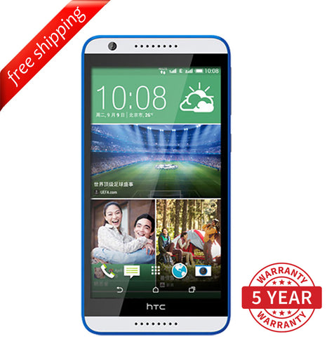 HTC Desire 820U Dual Sim 13MP 4G LTE Factory Unlocked White (16GB) - Refurbished
