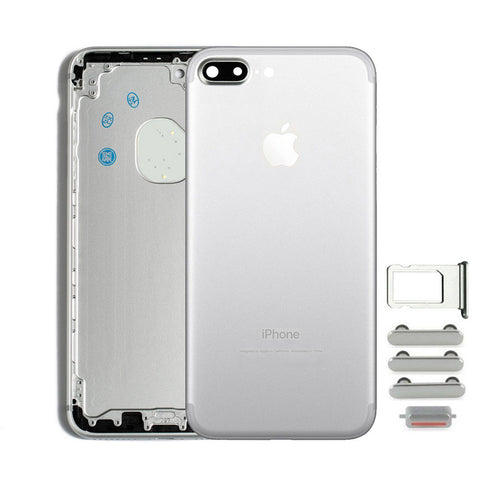 Back Housing Replacement Battery Case Cover Rear Frame For iPhone 7 Plus - Silver