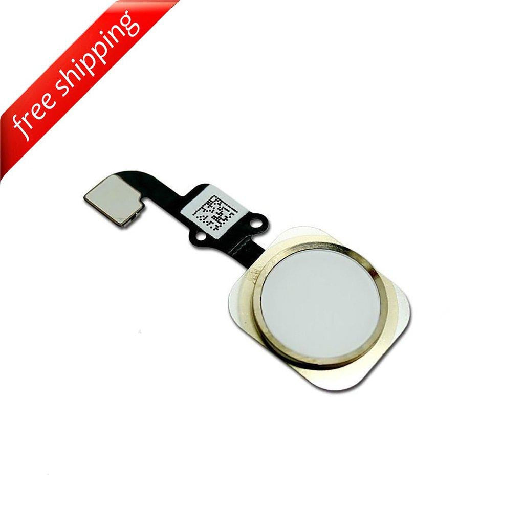 Replacement Home Button With Flex Cable For iPhone 6 Plus - Gold