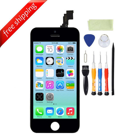 LCD For iPhone 5c Replacement Screen Touch Digitizer - Black