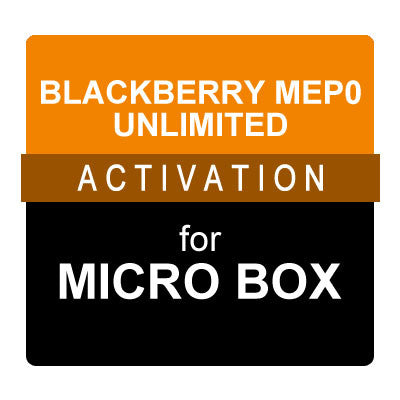 Blackberry MEP0 Unlimited Activation for Micro Box
