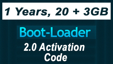 Boot-Loader v2.0 Activation Code 1 year, 20 + 3GB