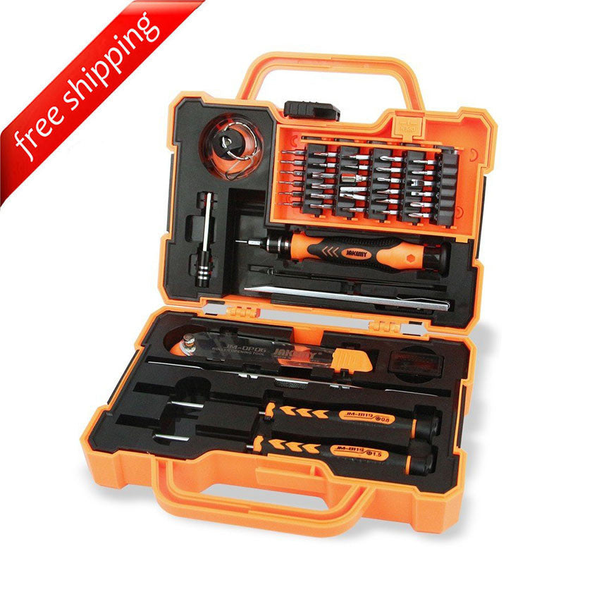 JAKEMY JM-8139 (45-in-1) Precision Screwdriver Set For iPhone iPad Phone & Tablet