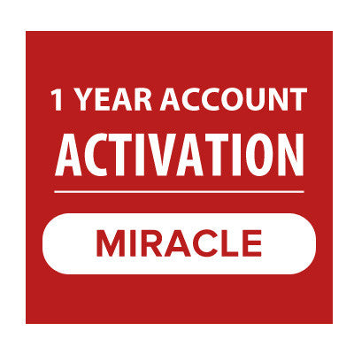 Miracle 1 Year Account Activation - Delivery Time : 6 Hours