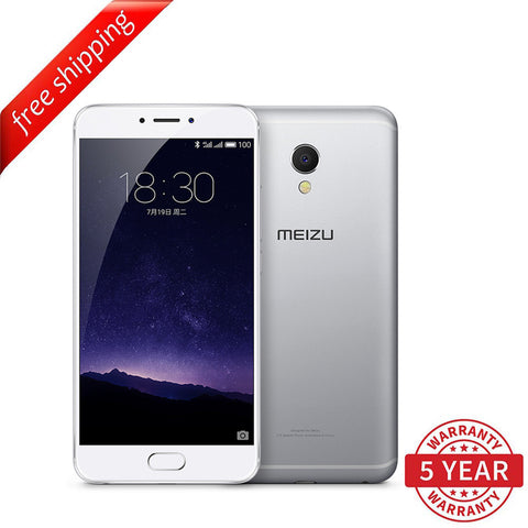 Meizu MX6 3+32GB (Multi-Language) - Silver