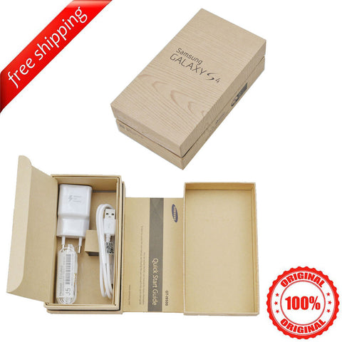Original Packaging Box + Original Full Accessories For Samsung S4