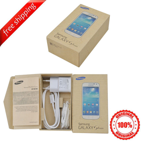Original Packaging Box + Original Full Accessories For Samsung S4 mini