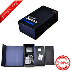Original Packaging Box + Original Full Accessories For Samsung S7 Edge