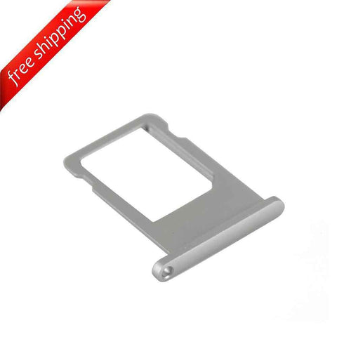 SIM Card Slot Holder Tray For iPhone 6 - Space Grey