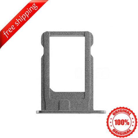 Original SIM Card Slot Holder Tray For iPhone 5s - Space Grey