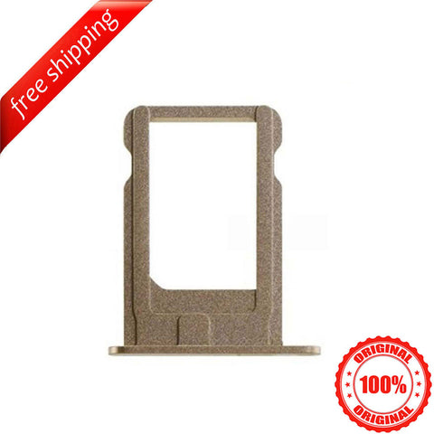 Original SIM Card Slot Holder Tray For iPhone 5s - Gold