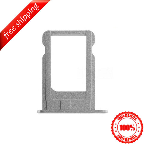 Original SIM Card Slot Holder Tray For iPhone 5s - Silver