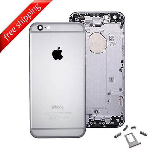 Back Housing Replacement Battery Case Cover Rear Frame For iPhone 6 - Grey