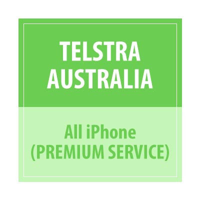 Telstra Australia All iPhone Premium Service - Delivery Time : 72 Hours