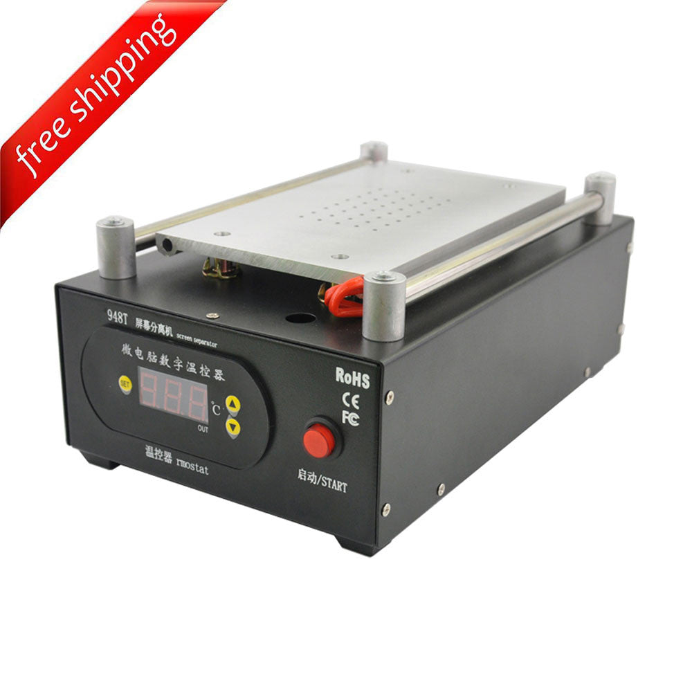 UYUE 948T LCD Screen Separator Machine Built-in Vacuum Pump Max 7 inch 110V/220V