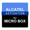 Alcatel Activation for Micro Box