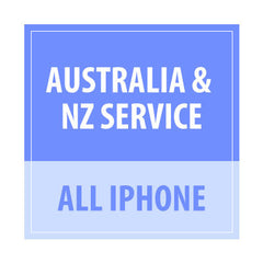 Australia & NZ Service All iPhone - Delivery Time : 24-72 Hours
