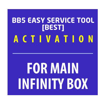 BB5 Easy Service Tool [BEST] Activation for Main Infinity-Box