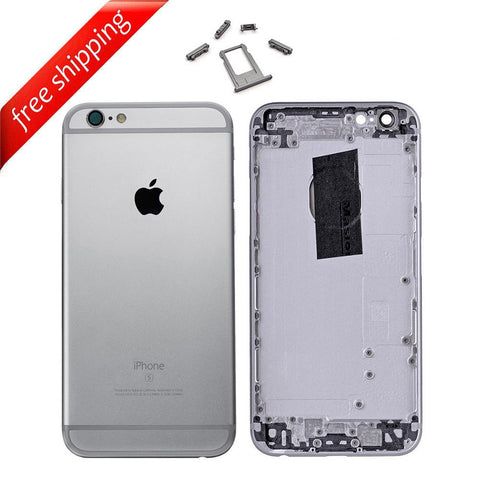 Back Housing Replacement Battery Case Cover Rear Frame For iPhone 6s - Space Grey