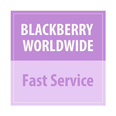 Blackberry Worldwide Fast Service - Delivery Time : 24 Hours