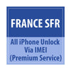 France SFR All iPhone Unlock Via IMEI Premium Service - Delivery Time : 24 Hours
