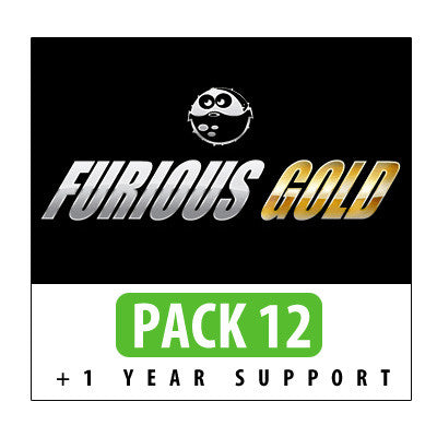 Furious Gold Pack 12 + 1 Year Support