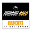 Furious Gold Pack 13 + 1 Year Support