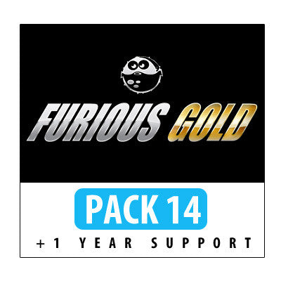 Furious Gold Pack 14 + 1 Year Support