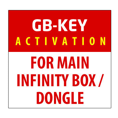 GB-Key Activation For Main Infinity Box / Dongle