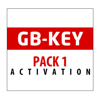 GB-Key Pack 1 Activation