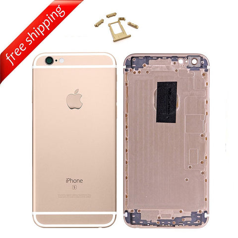 Back Housing Replacement Battery Case Cover Rear Frame For iPhone 6s Plus - Gold