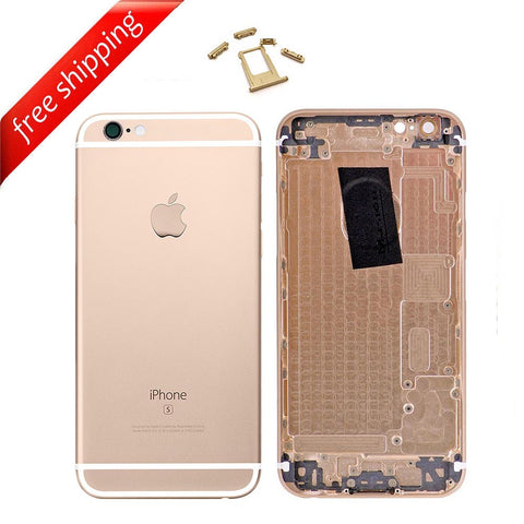 Back Housing Replacement Battery Case Cover Rear Frame For iPhone 6s - Gold