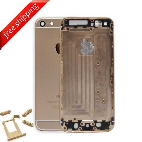 Back Housing Replacement Battery Case Cover Rear Frame For iPhone 6 Plus - Gold